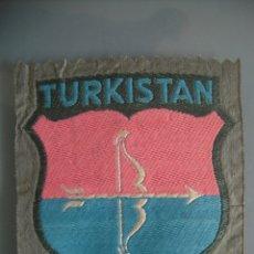 Militaria: ESCUDO BEVO SHIELD ÄRMELSCHILD TURKISTAN 2º MODELO 2ND DESIGN WEHRMACHT. Lote 181107407