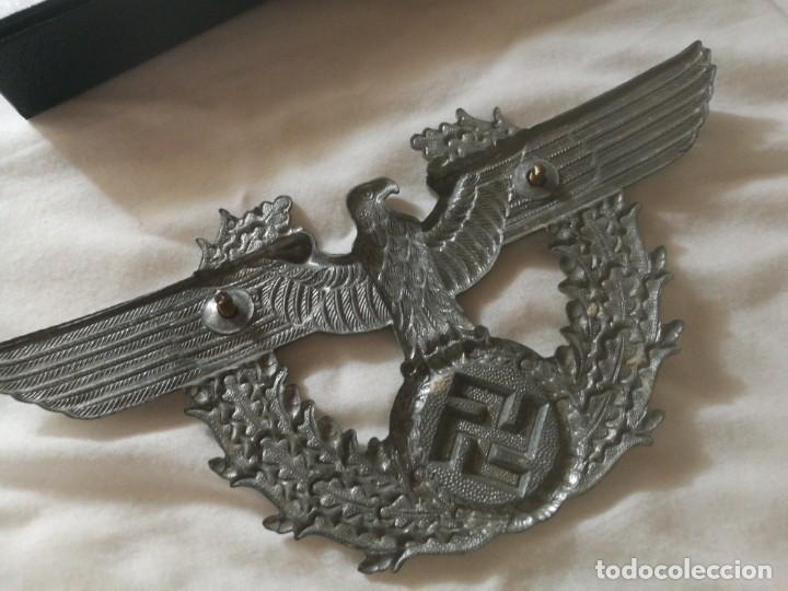 Militaria: Aguila de tschako de Policia - Foto 2 - 183441737