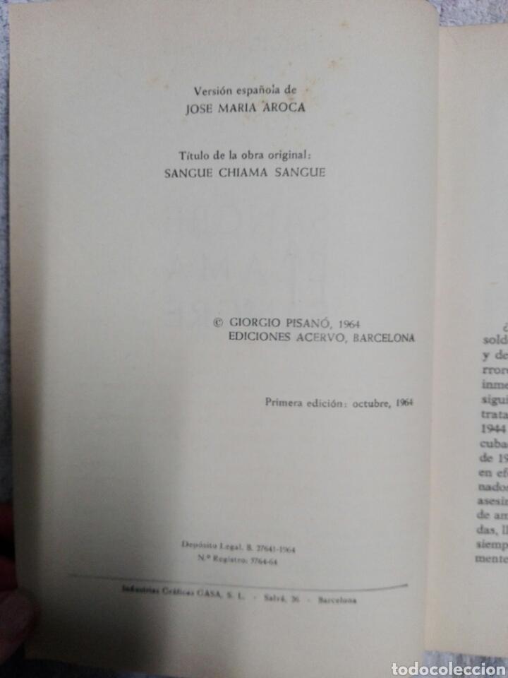 Militaria: SANGRE LLAMA A SANGRE.....1964 - Foto 4 - 183583137