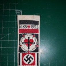 Militaria: III REICH. INSIGNIA NSDAP. FERIA LUTERANA. Lote 183983961