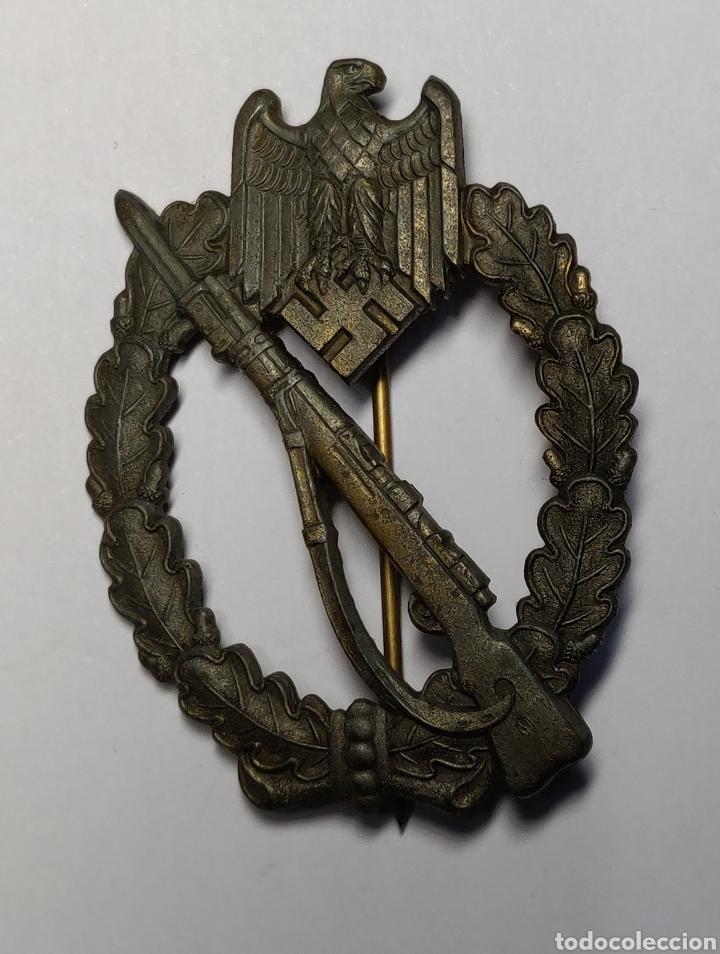 INSIGNIA DE ASALTO DE INFANTERIA DE ALEMANIA.CATEGORIA BRONCE.SEGUNDA GUERRA MUNDIAL. (Militar - II Guerra Mundial)