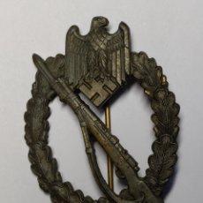 Militaria: INSIGNIA DE ASALTO DE INFANTERIA DE ALEMANIA.CATEGORIA BRONCE.SEGUNDA GUERRA MUNDIAL.. Lote 187418486