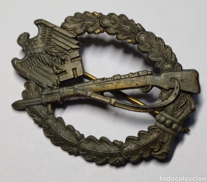 Militaria: INSIGNIA DE ASALTO DE INFANTERIA DE ALEMANIA.CATEGORIA BRONCE.SEGUNDA GUERRA MUNDIAL. - Foto 2 - 187418486