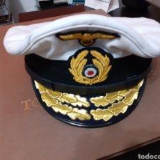 Militaria: KRIEGSMARINE GORRA REPLICA MUY ELABORADA. Lote 188462831