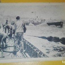 Militaria: POSTAL ORIGINAL II GUERRA MUNDIAL. DIVISION AZUL. Lote 189686386
