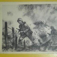 Militaria: POSTAL II GUERRA MUNDIAL. DIVISION AZUL.. Lote 189688997