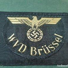 Militaria: DISTINTIVO DE FERROCARRILES DE WUPPERTAL. III REICH.. Lote 191450455