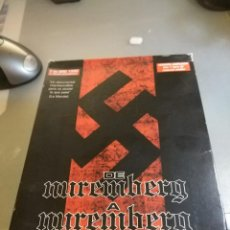 Militaria: DOCUMENTAL DE NUREMBERG A NUREMBERG. Lote 191824541