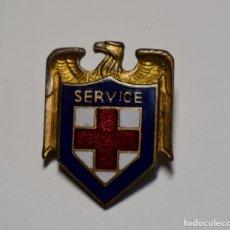 Militaria: INSIGNIA DE OFICIAL DE SERVICIO DE LA CRUZ ROJA ESTADOS UNIDOS.2ª GUERRA MUNDIAL.. Lote 193579460
