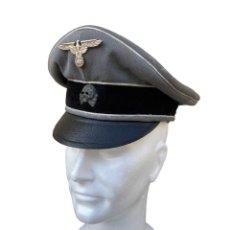 Militaria: GORRA DE OFICIAL DE LAS WAFFEN SS [PIEZA DE MUSEO]. Lote 194200010