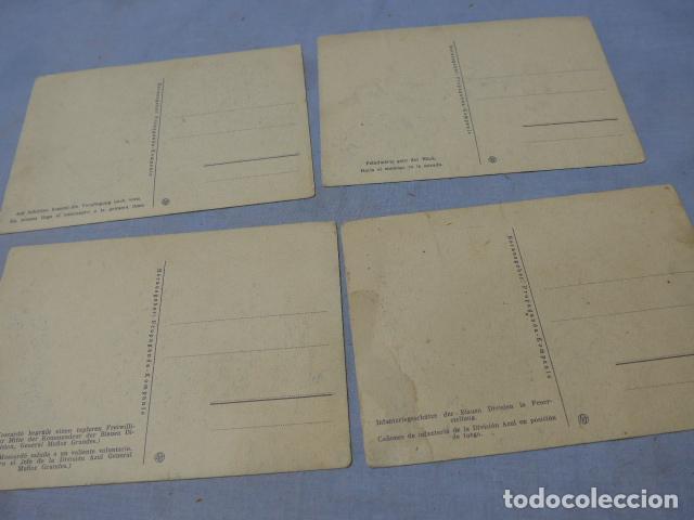 Militaria: * Lote 4 antiguas postales de la division azul, una rara. Originales. II guerra mundial. ZX - Foto 6 - 194238331