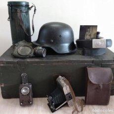 Militaria: GRAN CONJUNTO MAS QUE 50 COSAS DE EQUIPOS PARA EL SOLDADO DE WEHRMACHT TODOS ARTÍCULOS DE LAS FOTOS!. Lote 194540801