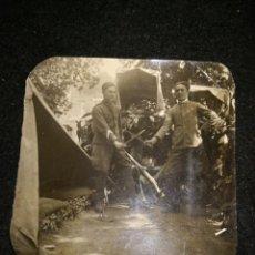 Militaria: EJÉRCITO FASCISTA ITALIANO ÁFRICA SEGÚNDA GUERRA MUNDIAL. Lote 194899695