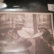 Militaria: SOLDADOS ALEMANES MOTORISTAS SEGÚNDA GUERRA MUNDIAL. Lote 194976056