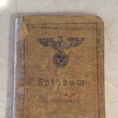 Militaria: SOLDBUCH ALEMÁN 2ª GM . 5 PANZER DIVISION . 3 CONDECORACIONES !!. Lote 194992435