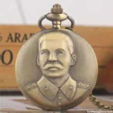 Militaria: RELOJ DE BOLSILLO STALIN. UNIÓN SOVIÉTICA. URSS . RUSIA. GUERRA MUNDIAL. CCCP. Lote 195098718