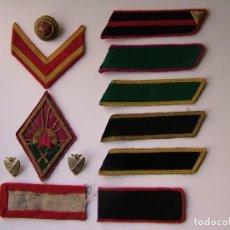 Militaria: SURTIDO PARCHES, DISTINTIVOS Y COCARDA SOVIETICOS (1922-1943). Lote 195135465