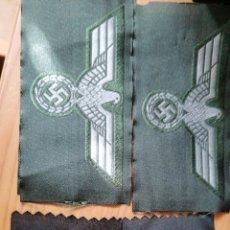 Militaria: LOTE DE 4 EMBLEMAS WHERMACHTS Y SS. Lote 195324983