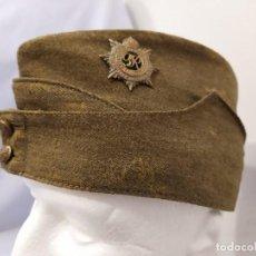 Militaria: REINO UNIDO - SIDE CAP - RASC - MARCADO 1941 - WWII. Lote 195384478
