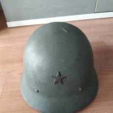 Militaria: CASCO MILITAR SUECO, CARACTERIZADOJAPONÉS. Lote 195395853