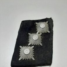 Militaria: PARCHE DE CUELLO DE CAPITÁN DE LAS SS.. Lote 196359177