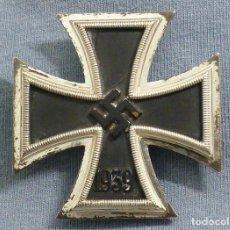 Militaria: CRUZ DE HIERRO DE 1ª CLASE, FABRICADA POR DEUMER, SIN MARCAR, PERIODO 1939-42. EXCELENTE PIEZA.. Lote 196570551