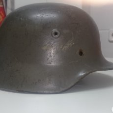 Militaria: CASCO ALEMÁN O STAHLHELM M40 POSIBLEMENTE DEL EJÉRCITO FINLANDES. Lote 194292566