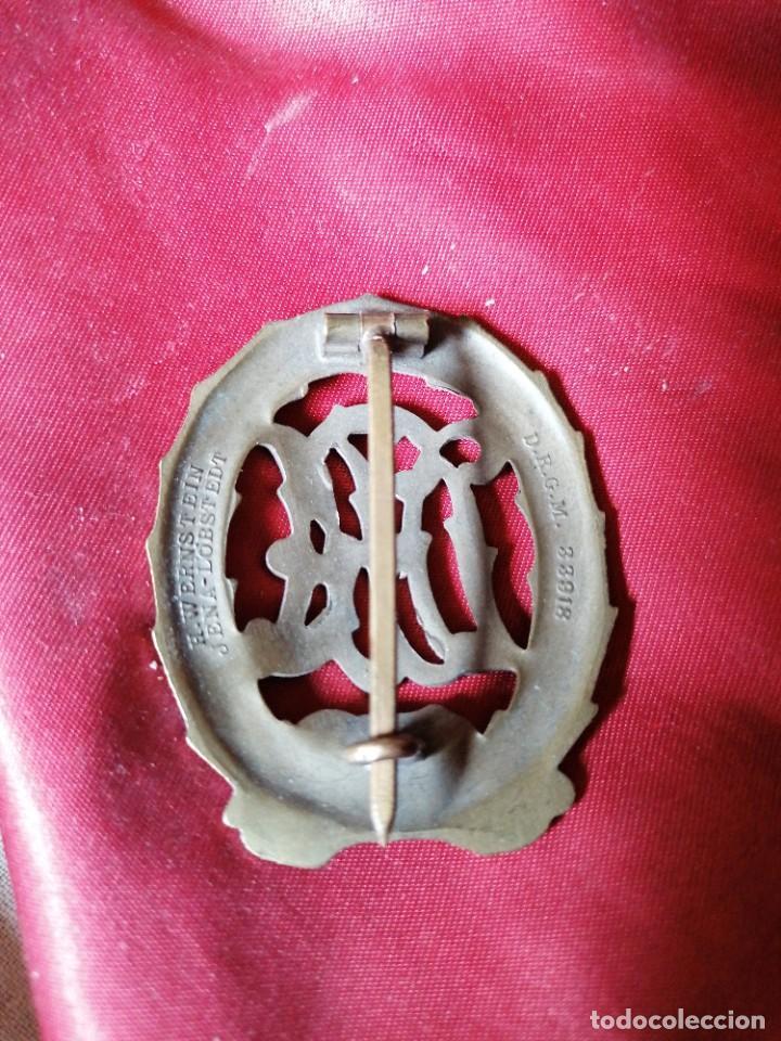 Militaria: Distintivo de deportes bronce - Foto 2 - 245500235