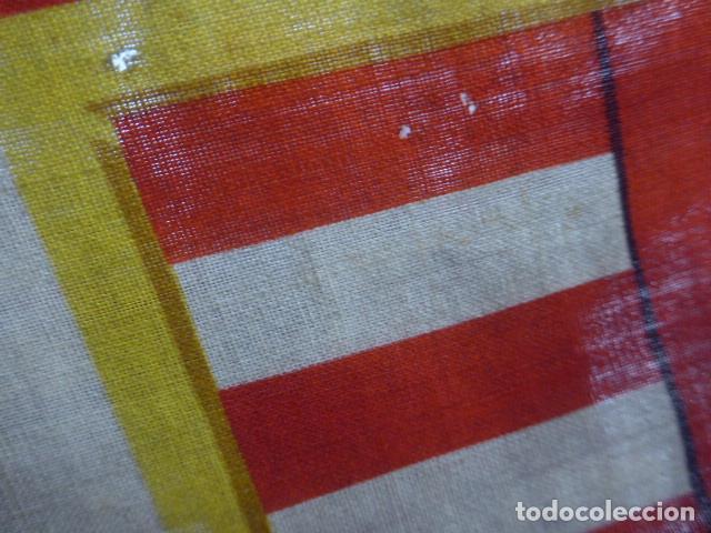 Militaria: Antigua bandera de Hungria original de la II guerra mundial, fabricacion de Barcelona, castells. - Foto 3 - 197113647