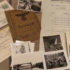 Militaria: SOLDBUCH + FOTOGRAFÍAS + DOCUMENTOS 1939-1945. Lote 197830543