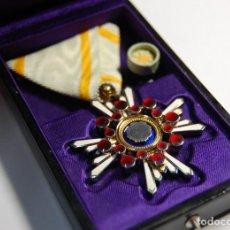 Militaria: MEDALLA PLATA DE JAPON.ORDEN DEL SAGRADO TESORO DE 5ª CLASE.2ª GUERRA MUNDIAL. Lote 198614268