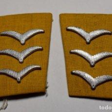 Militaria: PRECIOSOS DISTINTIVOS DE CABO DE SANIDAD DE LA LUFTWAFFE DE ALEMANIA.2ª GUERRA MUNDIAL. Lote 198775531