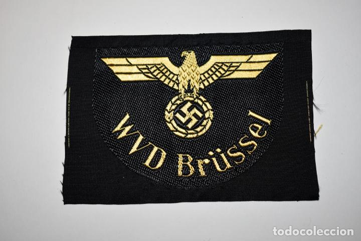 DISTINTIVO DE TELA DE LA WVD BRÜSSEL DE ALEMANIA.2ª GUERRA MUNDIAL (Militar - II Guerra Mundial)