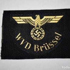 Militaria: DISTINTIVO DE TELA DE LA WVD BRÜSSEL DE ALEMANIA.2ª GUERRA MUNDIAL. Lote 198776987