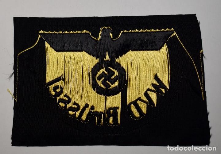 Militaria: DISTINTIVO de tela de la WVD BRÜSSEL de ALEMANIA.2ª GUERRA MUNDIAL - Foto 2 - 198776987