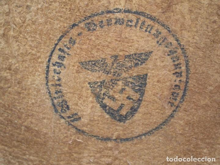 Militaria: FUNDA PORTACAMARA O APARATO SIMILAR CON MARCAJE SELLO DE LAS SS - Foto 8 - 199267396
