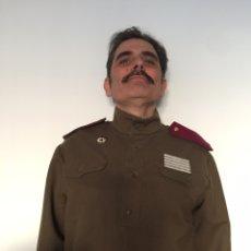Militaria: CHAQUETA DE COMBATE DEL EJÉRCITO RUSO WW2. RUSA URSS REPRO. SEGUNDA GUERRA MUNDIAL. GUARDA RUSA Y. Lote 199319825