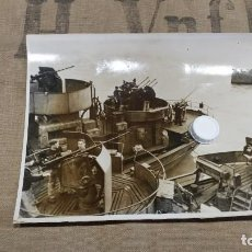 Militaria: KRIEGSMARINE - FOTO ORIGINAL DE PRENSA 1943. Lote 199399540