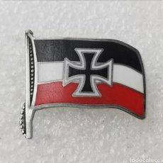 Militaria: PIN INSIGNIA BANDERA ALEMANIA NAZI GUERRA MUNDIAL WW2 CRUZ DE HIERRO. Lote 199728132