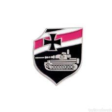 Militaria: PIN INSIGNIA EJÉRCITO DE TIERRA TANQUE SEGUNDA GUERRA MUNDIAL. ALEMANIA NAZI. Lote 199728422