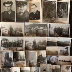 Militaria: 155 FOTOGRAFÍAS ORIGINALES DE UN SOLDADO DE LA KRIGSMARINE BUSCADOR DE MINAS. Lote 200383503