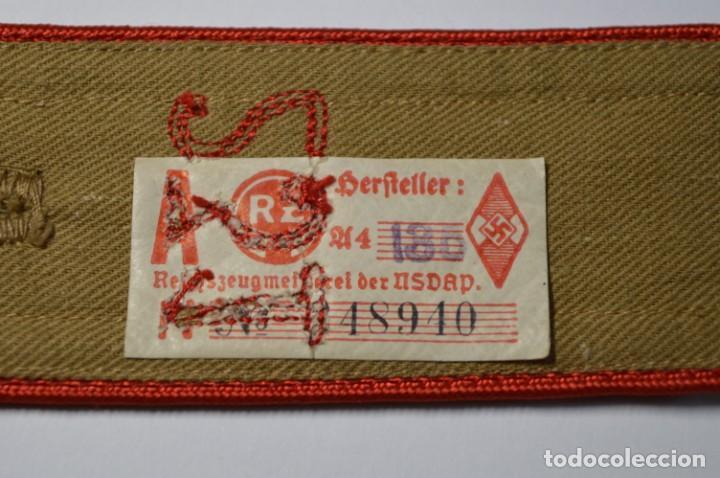 Militaria: PAREJA DE HOMBRERAS DEL 231 REGIMIENTO DE LAS JUVENTUDES HITLERIANAS ALEMANAS.2ª GUERRA MUNDIAL - Foto 6 - 200791146