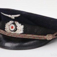 Militaria: GORRA DE VISERA DEL LÍDER NSRKB 100% ORIGINAL DEL TERCER REICH. Lote 201210311