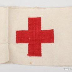 Militaria: BRAZALETE ALEMAN DRK CRUZ ROJA ALEMANA COMPLETAMENTE ORIGINAL DE LA 2WW. Lote 201211325