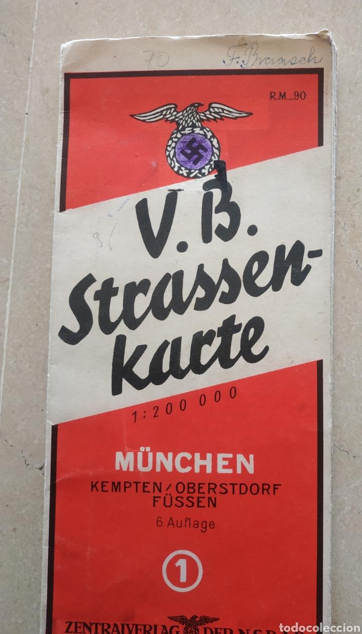Militaria: Lote de cartillas y plano drl Nsdap de Múnich - Foto 16 - 201593980