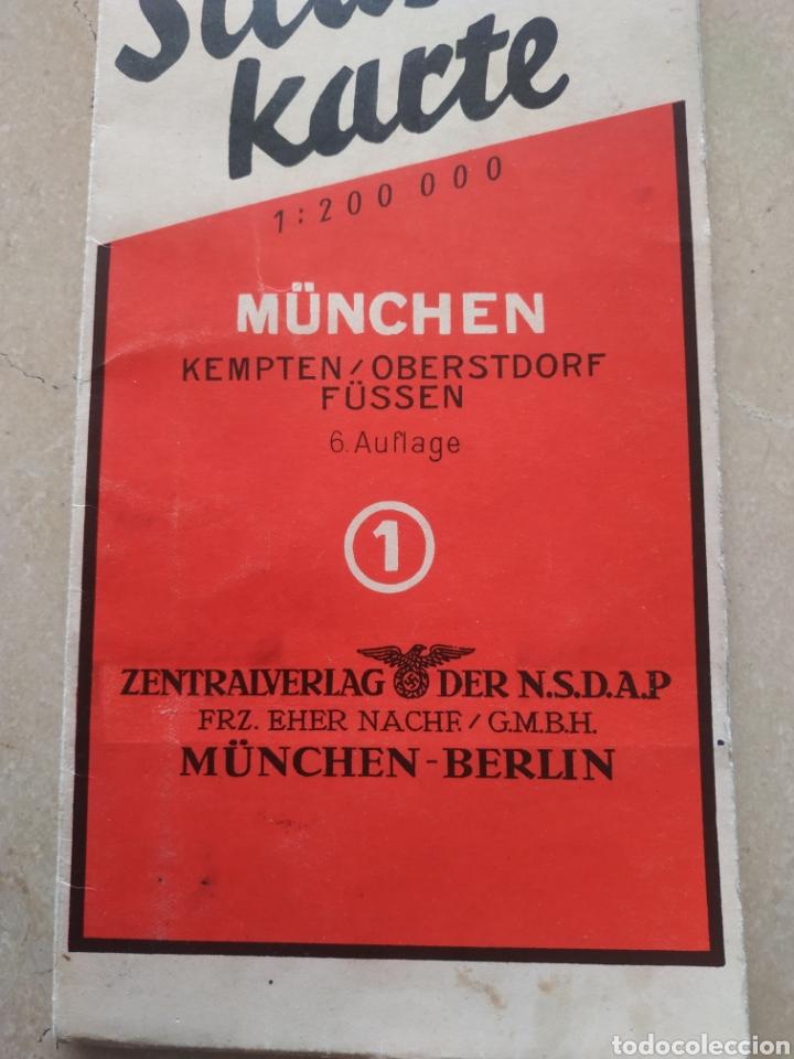 Militaria: Lote de cartillas y plano drl Nsdap de Múnich - Foto 22 - 201593980