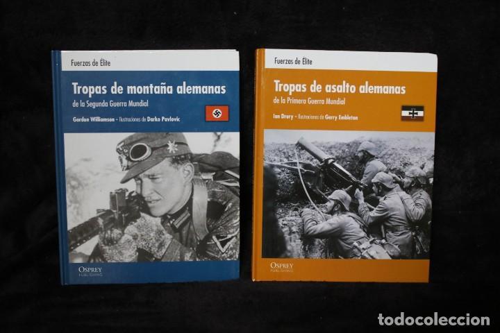 DIVISIONES DE MONTAÑA Y TROPAS DE ASALTO ALEMANAS LIBRO OSPREY TAPA DURA (Militar - II Guerra Mundial)