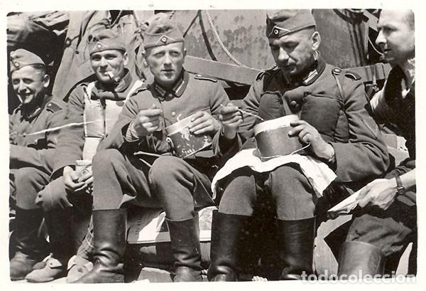 Militaria: Marmita alemana mod. 31, de aluminio, 1937-38. Wehrmacht SS LW Falschirmjäger 2ªGM - Foto 10 - 201550263