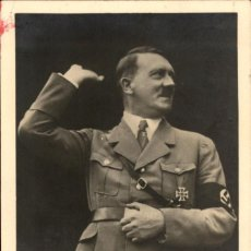 Militaria: ORIGINAL - ADOLF HITLER - III REICH - CPA AK JUNDENDGRUPPE - BERLIN - 1941. Lote 202396653