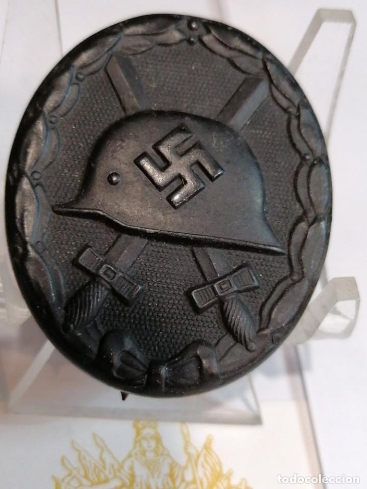 DISTINTIVO DE HERIDO NEGRO DE WEHRMACHT (Militar - II Guerra Mundial)